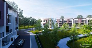 3 Storey Link Residences view 2
