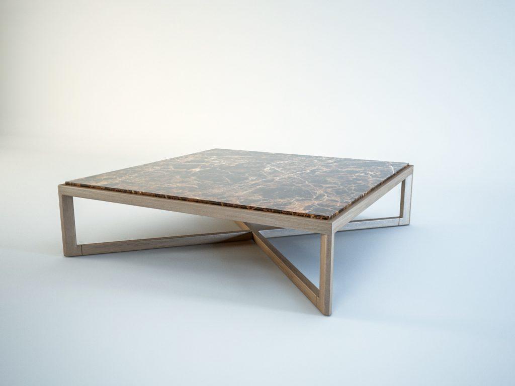 free 3d model krusin coffee table