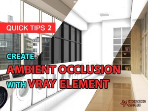 create ambient occlusion with vray element
